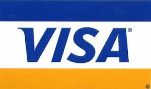 Možnosť platby kartou VISA